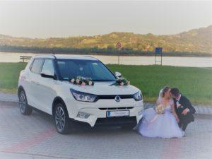 MOTOnajem do ślubu Ssang Yong Tivoli Quarz