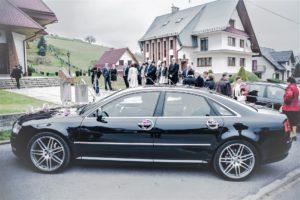 MOTOnajem auto do ślubu Audi a8